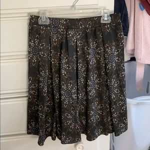 LuLaRoe Medium Floral Madison Skirt